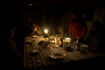 Candlelit dinner for six