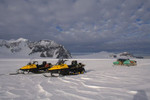 Skidoos and sledges