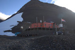 The hut itself